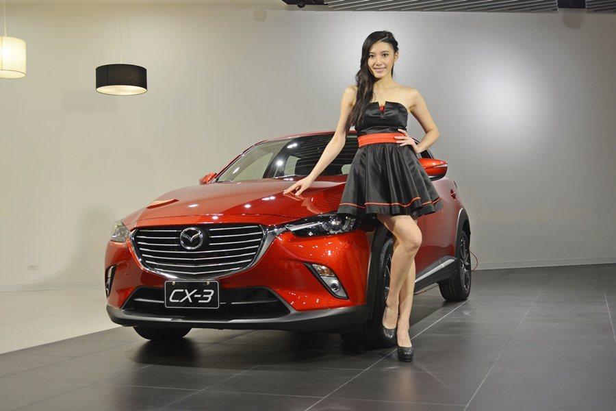 Mazda全新世代小型跨界跑旅CX-3將出現在本屆台北世界新車大展中。  ...
