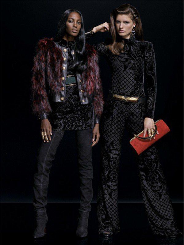 今年秋冬的皮草時尚,人工皮草取代了廉價兔毛皮草。圖/H&M提供
