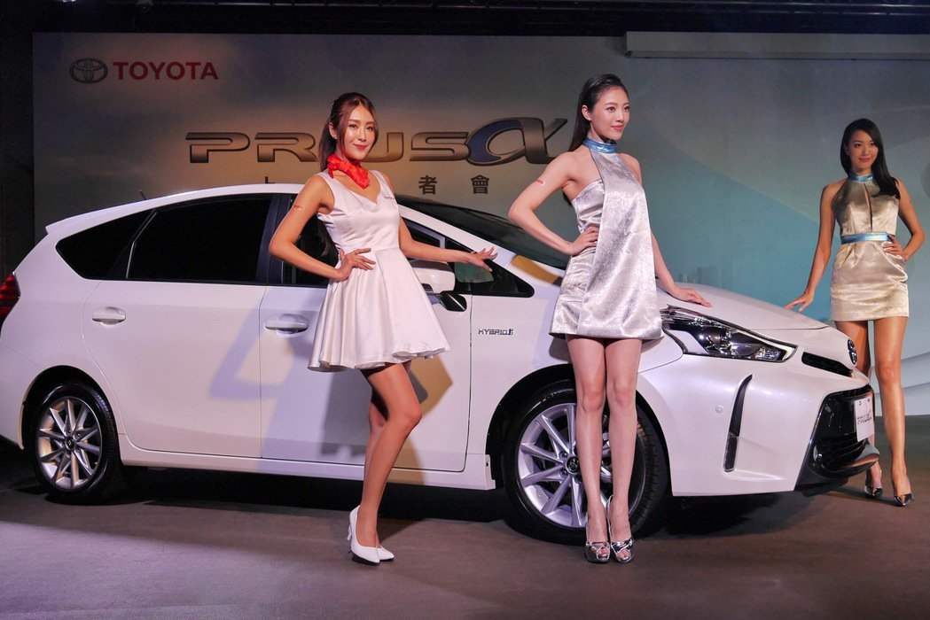PRIUS α的加入,讓Toyota在台販售的油電車陣容更加完整。 記者陳威任/...