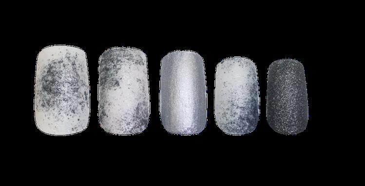 冷調低彩的指甲彩繪,展現冷靜特質。圖/butter LONDON提供