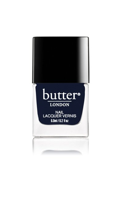 butter LONDON的Lock in色有神秘夜藍的調性。圖/butter ...