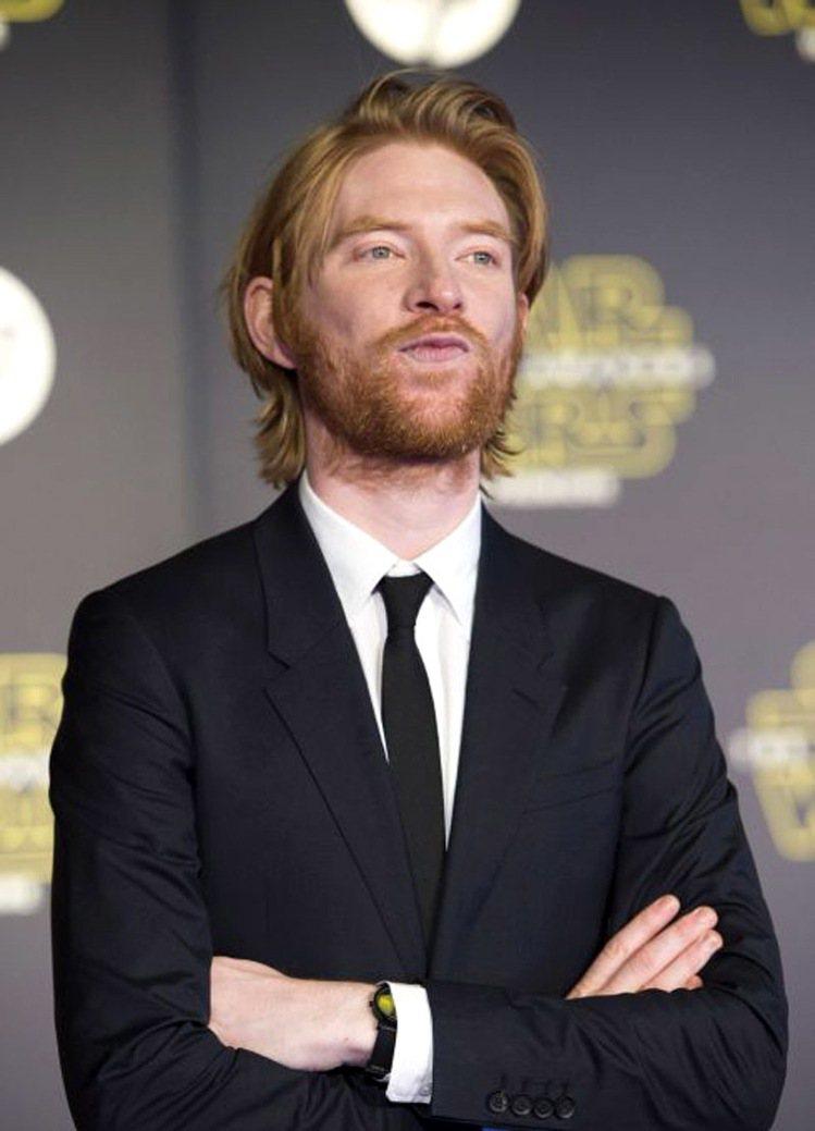 在《星際大戰:原力覺醒》中飾演赫斯將軍的Domhnall Gleeson。圖/擷...