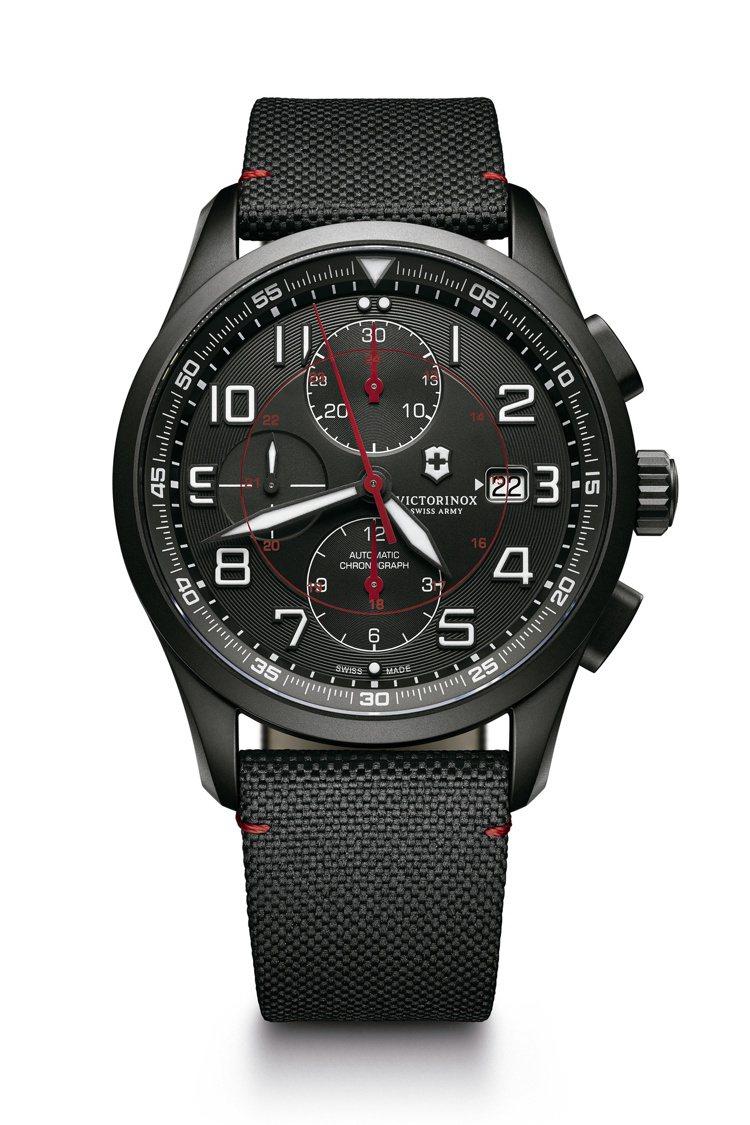 Airboss Black Edition 自動上鏈機械計時碼表,價格73,50...