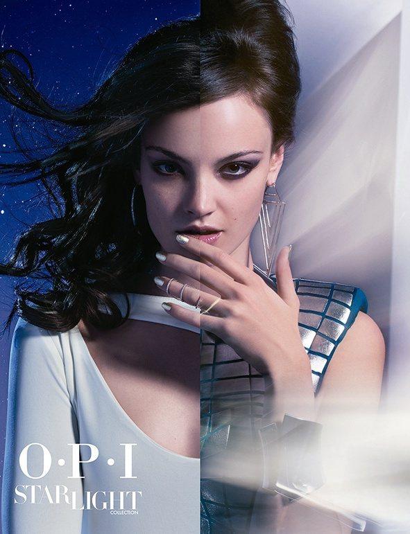 OPI推出指尖上波瀾壯闊的星際之旅系列。圖/OPI提供