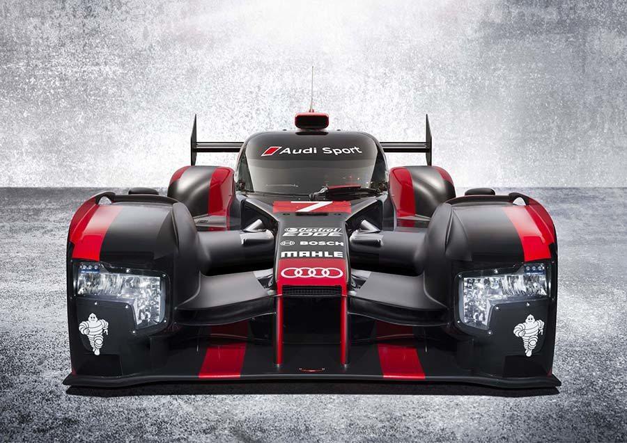 Audi R18以全新空氣力學設計的外觀,整合輕量化工程與效能全面提升的TDI ...