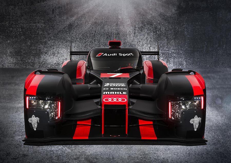 耐力賽之王Audi R18將以最新輕量化科技及全新柴電複合動力系統,強勢問鼎20...