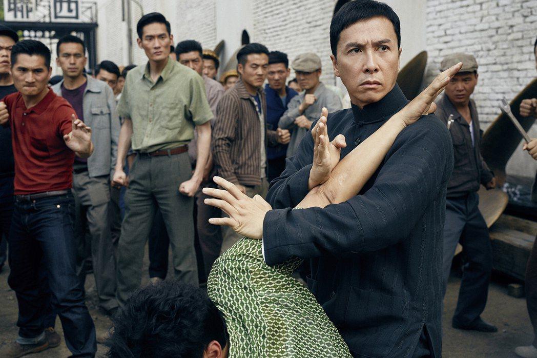 甄子丹在「葉問3」有許多武打場面   圖/華映提供