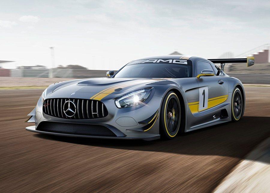 賓士最新GT戰馬AMG GT3也將來台展示。