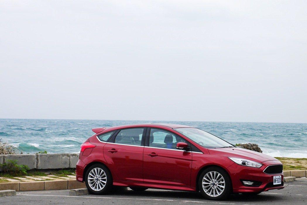 全新改款的Ford Focus。 記者陳威任/攝影