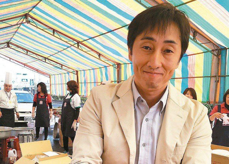 野崎孝男擔任台南市政府外交顧問。 報系資料照/記者吳淑玲攝影