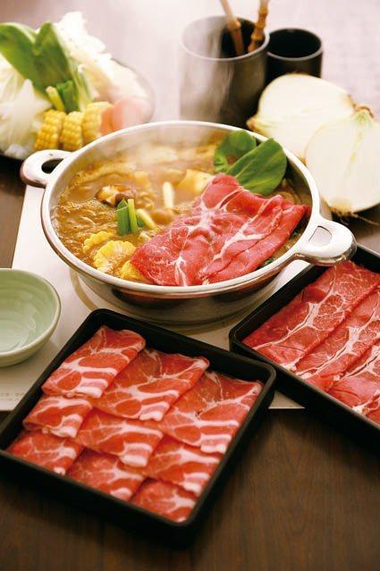 Mo-Mo-Paradise期間限定鍋物和風咖哩蔬菜風。圖/Mo-Mo-Para...