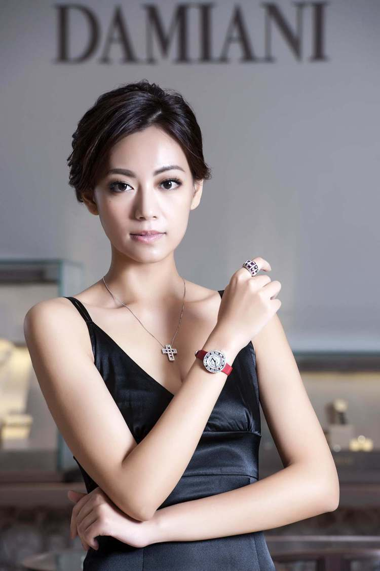 Belle Epoque美好年代系列作品包含項鍊、戒指與腕表。圖/DAMIANI...