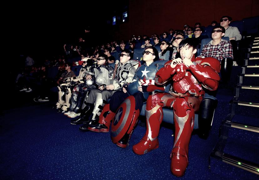 在中國市場創下將近15億人民幣票房的《復仇者聯盟2》,讓美國電影業的巨頭們荷包滿...