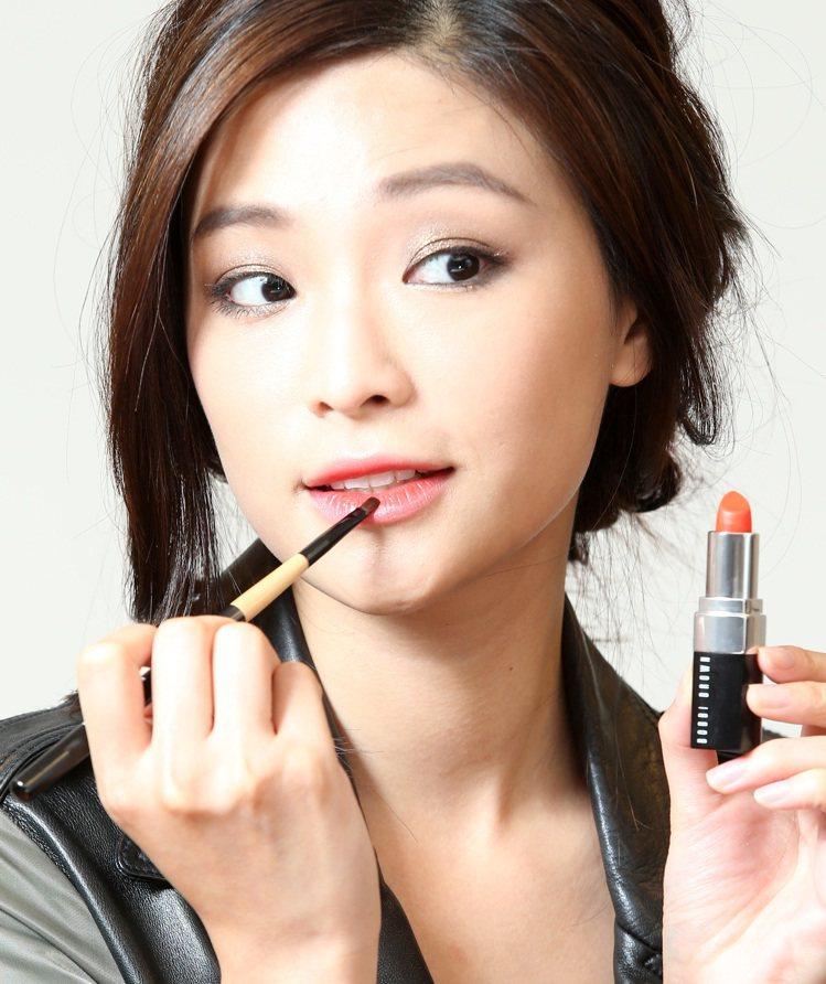韓劇女主角高濬熙仿妝,步驟五。記者林澔一/攝影