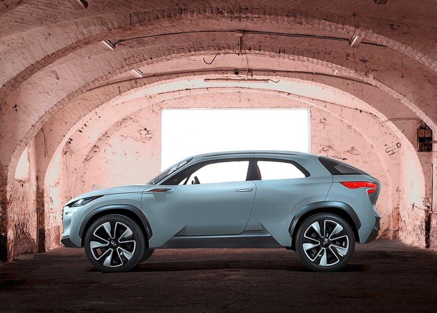 現代的Hed-9燃料電池概念車。