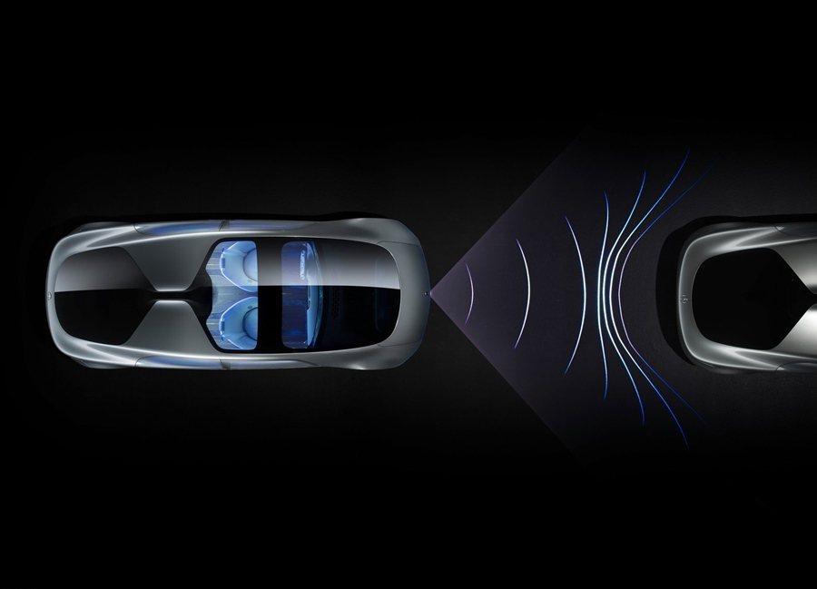F015具備的防拄安全科技其實已運用在賓士售車款上。