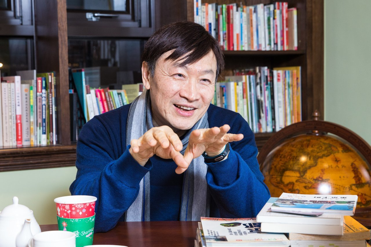 韓良露的丈夫朱全斌日前接受本報專訪,談起與亡妻的回想。 記者鄭清元/攝影