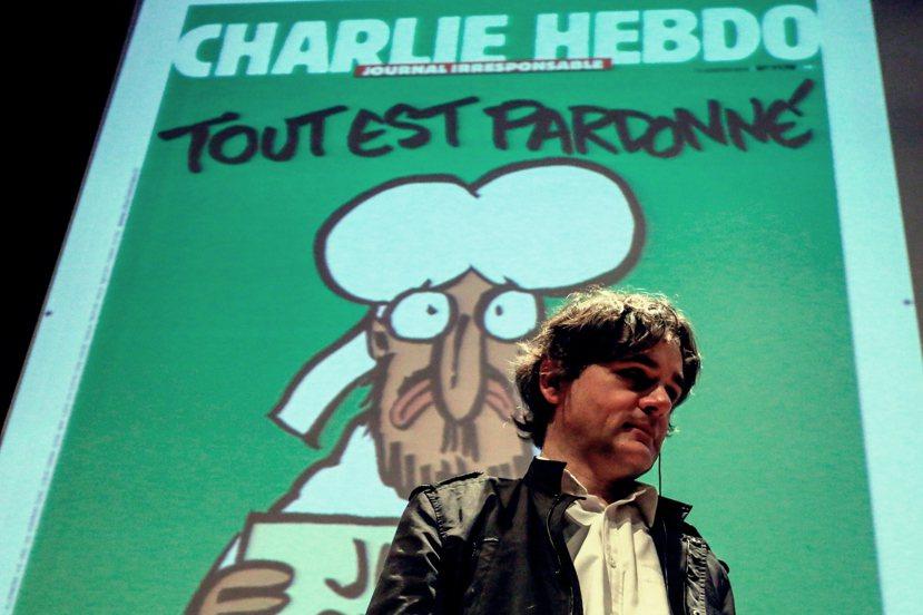 綽號「Riss」的蘇里素,原本是周刊內的二把手,但在Charb身亡之後也一肩扛起...