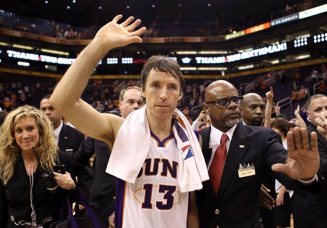 奈許近年因傷所困,終在3月宣布退役,結束19年NBA生涯。圖/美聯社