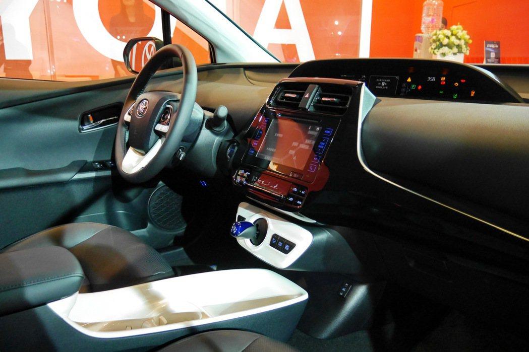 全新PRIUS將搭載Toyota Safety Sense主動式安全防護系統。 記者陳威任/攝影
