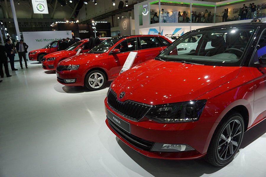 2016台北世界新車大展隆重開展,Škoda品牌旗下車款全員到齊 記者敖啟恩...