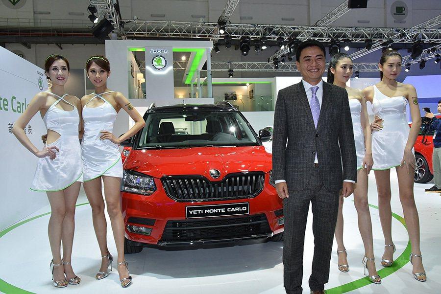 Škoda Monte Carlo特仕版於今日在台北車展正式發表,Škoda...