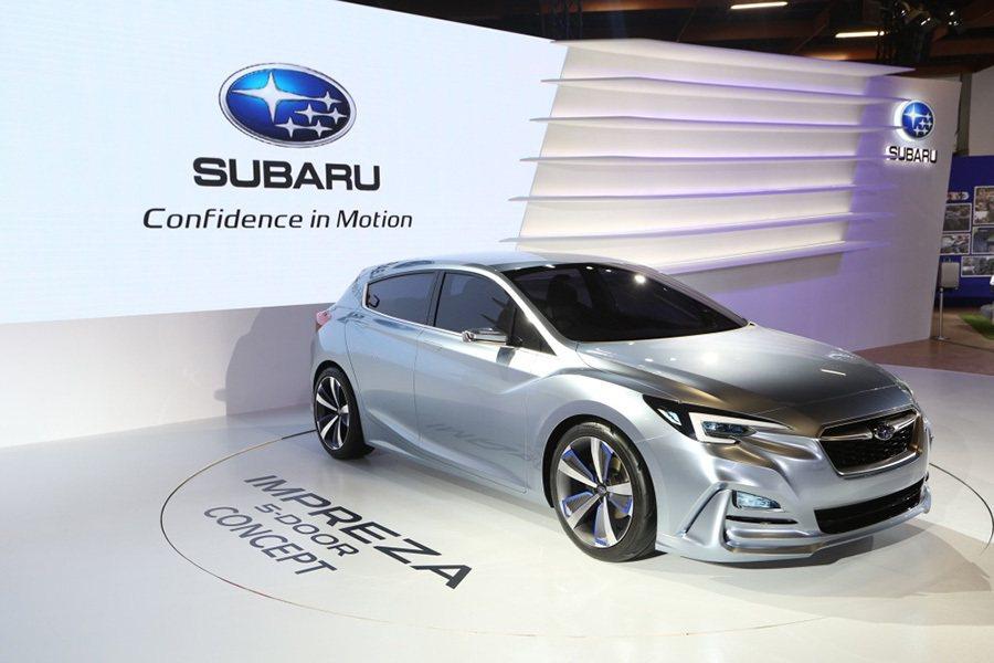 IMPREZA 5-Door Concept為SUBARU新世代Subaru G...