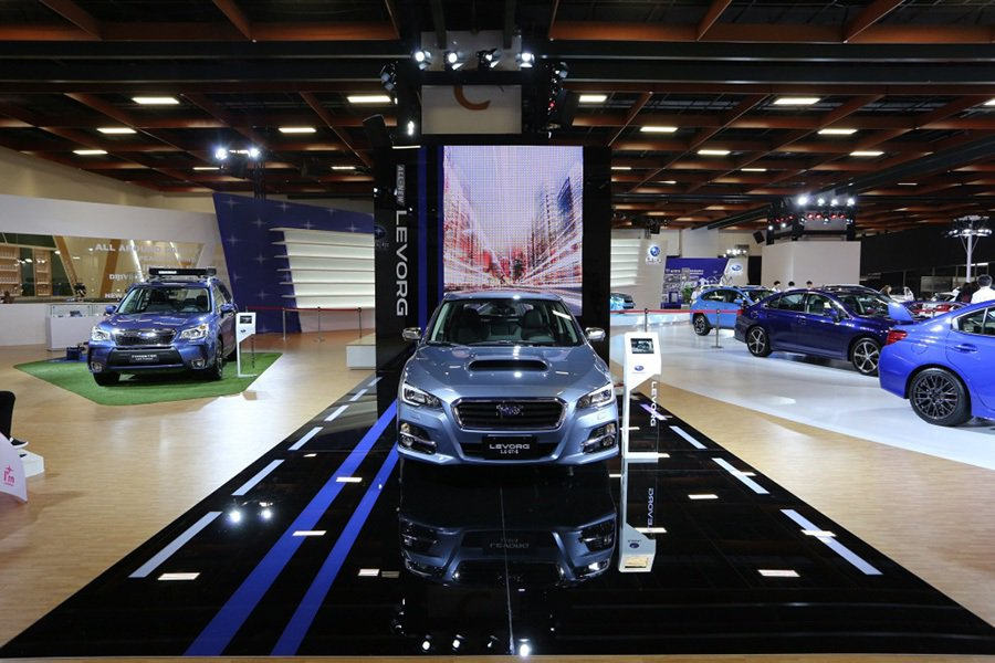 Levorg以及SUBARU全車系都於SUBARU Lifestyle展區盛大登...