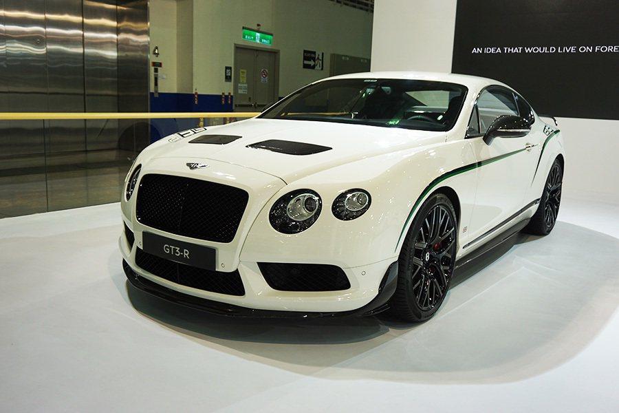 靈感源於Continental GT3賽車的全新GT3-R。 記者敖啟恩/攝影