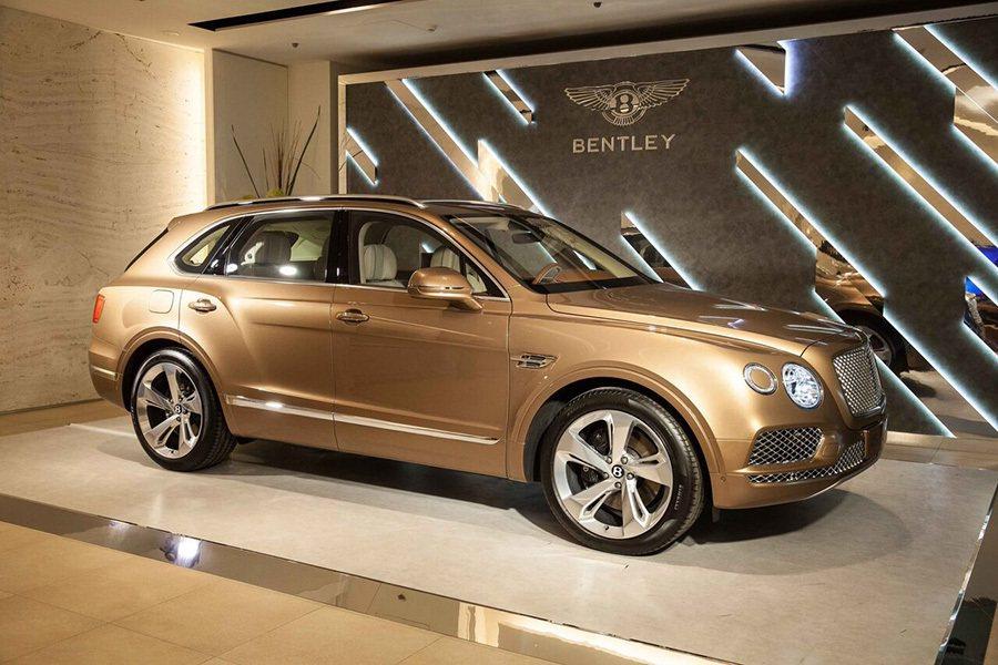 Bentayga豪華休旅車。 Bentley提供