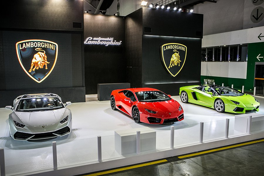 2016世界新車大展Lamborghini展區 Lamborghini提供