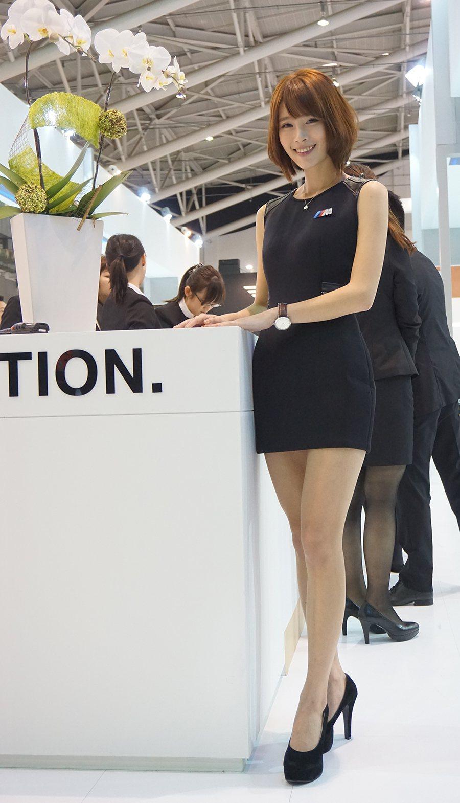 BMW展區 記者敖啟恩/攝影