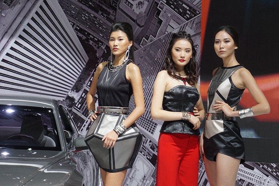 Audi展區 記者敖啟恩/攝影