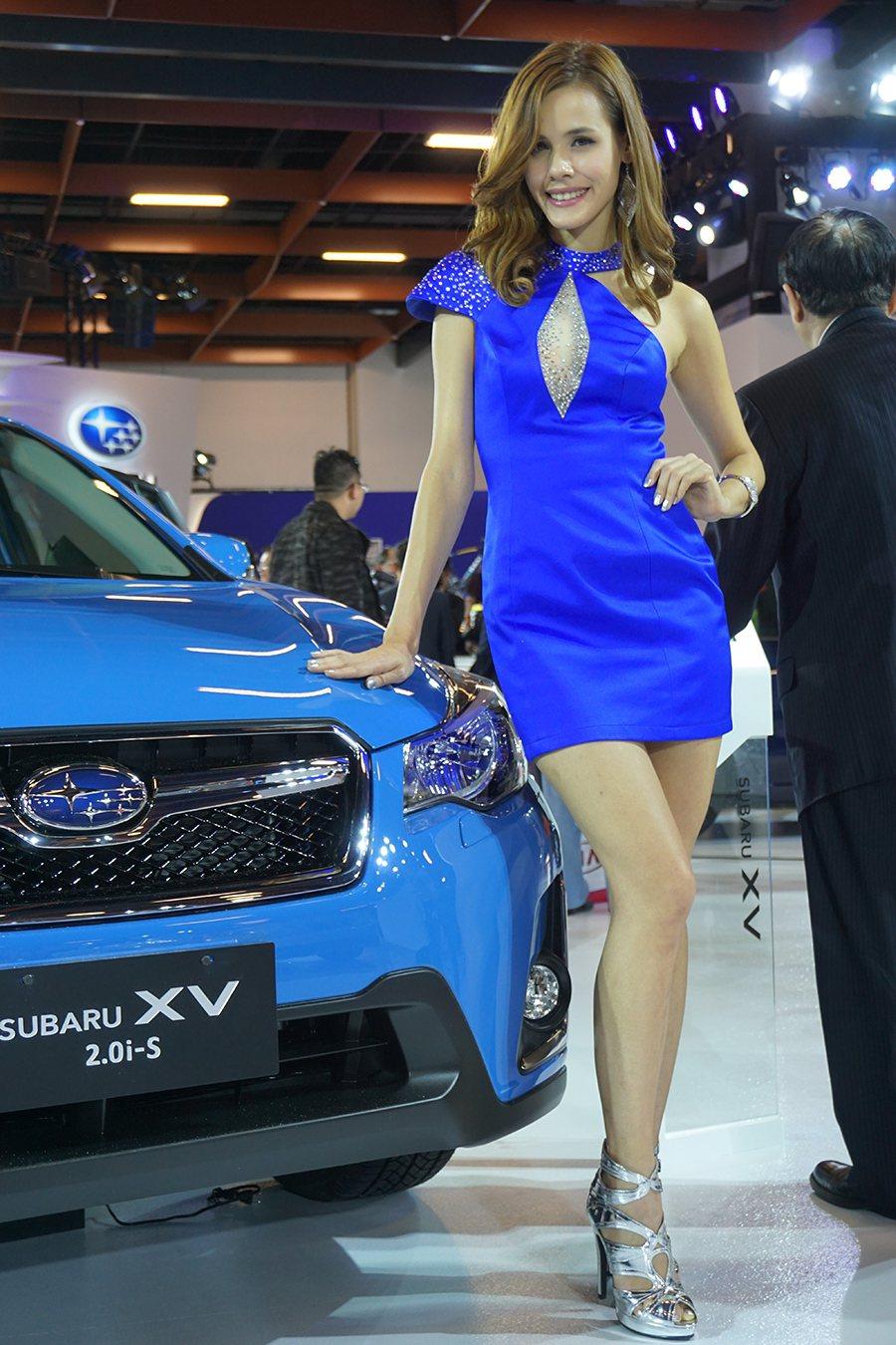 Subaru展區 記者敖啟恩/攝影
