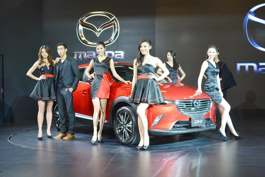 台灣馬自達第六世代全車系勁裝登場,包括最新跨級距都會跑旅MAZDA CX-3,車...