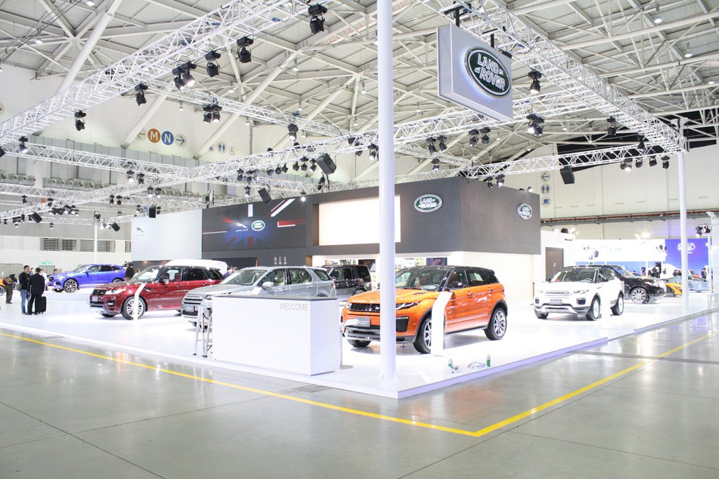 2016台北車展Land Rover以Range Rover Sport SVR...