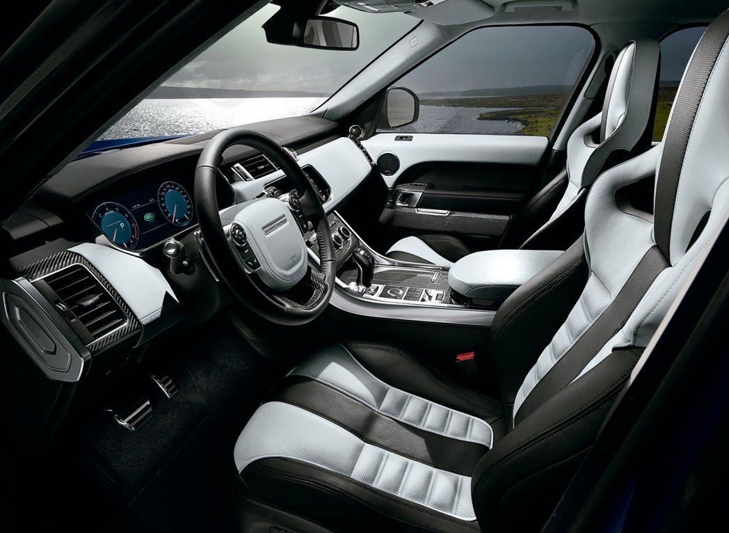 Range Rover Sport SVR搭載Terrain Response™...