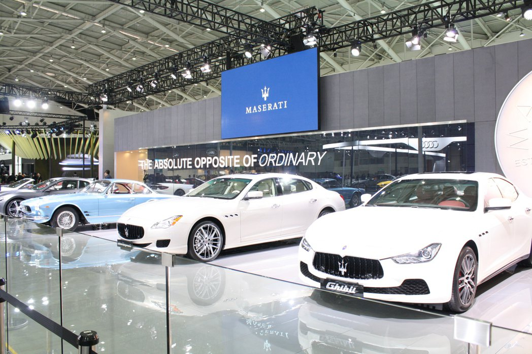 2016台北車展Maserati在Sebring 3500 GT引領下,同步展出...