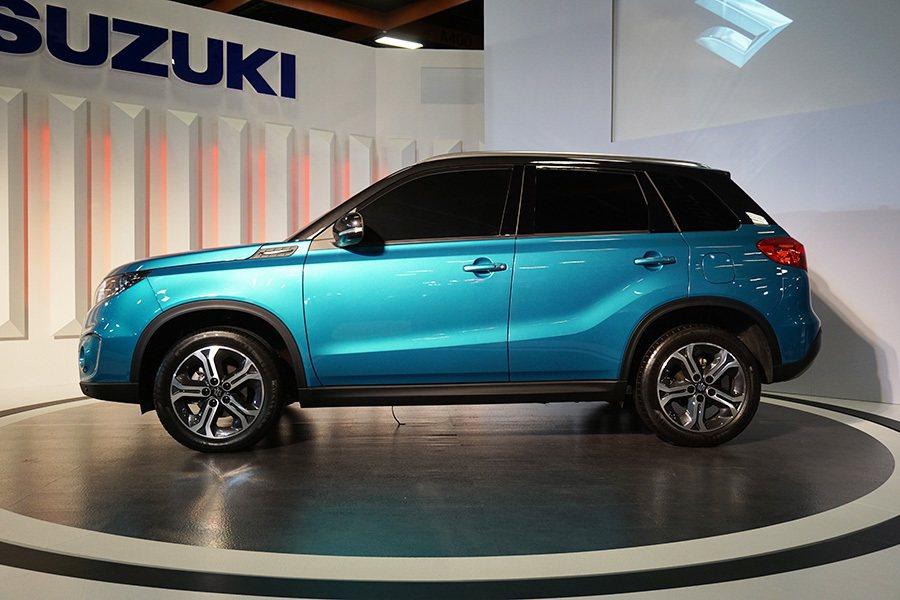 SUZUKI全球戰略車款的第四代VITARA。 記者敖啟恩/攝影