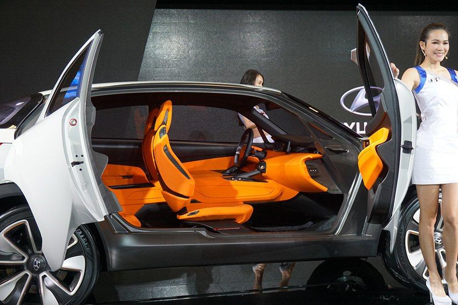 氫燃料概念車HED9 記者敖啟恩/攝影
