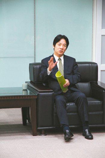 台南市長賴清德。 台南市政府/提供