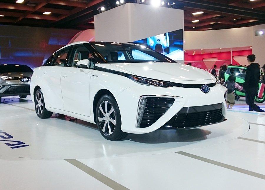 Mirai氫燃料電池車。 記者趙惠群/攝影