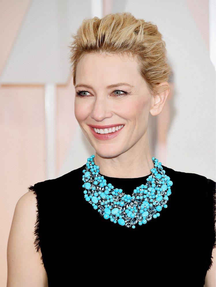 凱特布蘭琪憑著《藍色茉莉》拿下2015年第86屆奧斯卡影后。圖/Tiffany提...
