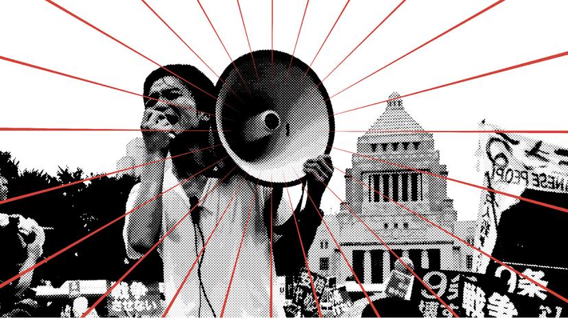 在一遍「大勢已去」的悲觀氣氛中,SEALDs決定與其他反對團體加以整合,以「R...