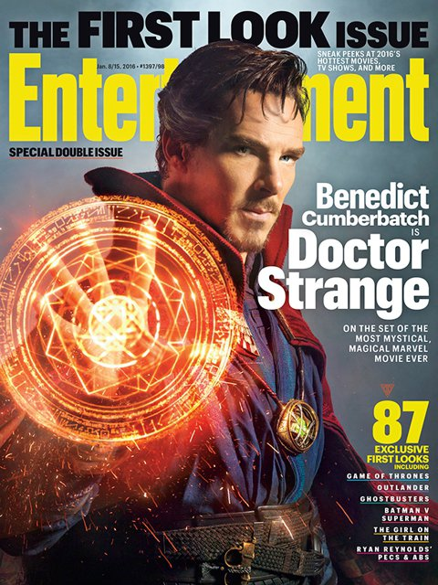 演出影集《新世紀福爾摩斯(Sherlock)》而走紅的英國男星班奈狄克康柏拜區(Benedict Cumberbatch),他入主漫威的超級英雄電影《奇異博士(Doctor Strange)》,造型...
