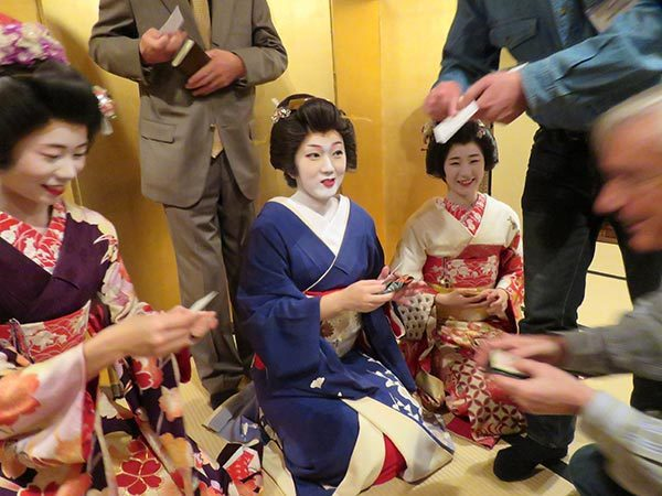 日本新潟的藝妓。 記者雷光涵/攝影