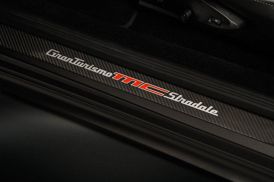 MC碳纖維迎賓車門踏板。 Maserati提供