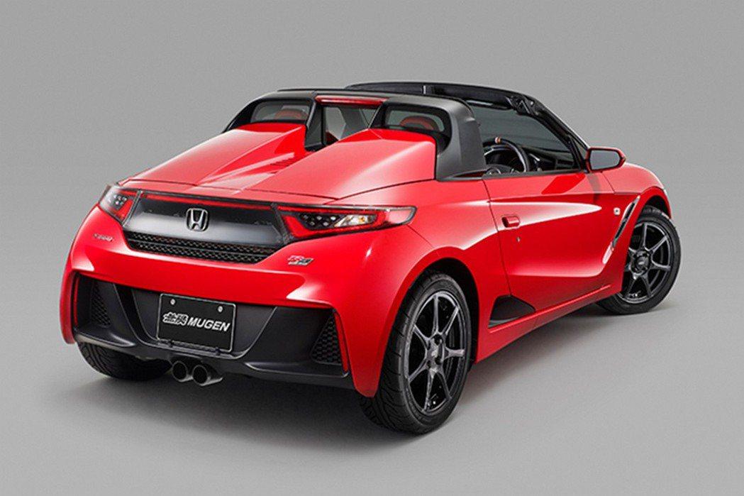 以Honda S660為基礎所打造的S660 Mugem RA Prototype。 摘自Mugen.com
