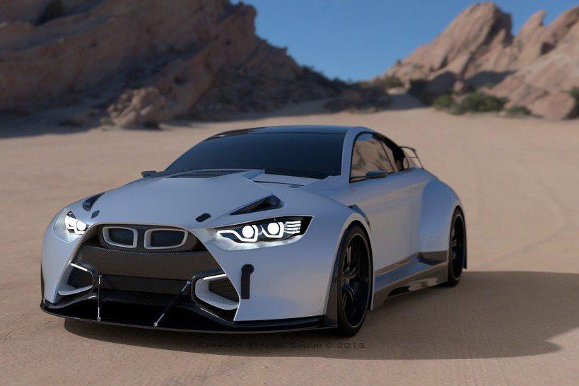 MAMBA GT3 Street Concept沿用3.0升直六雙渦輪增壓引擎,最大馬力高達710hp。 摘自autogespot.com