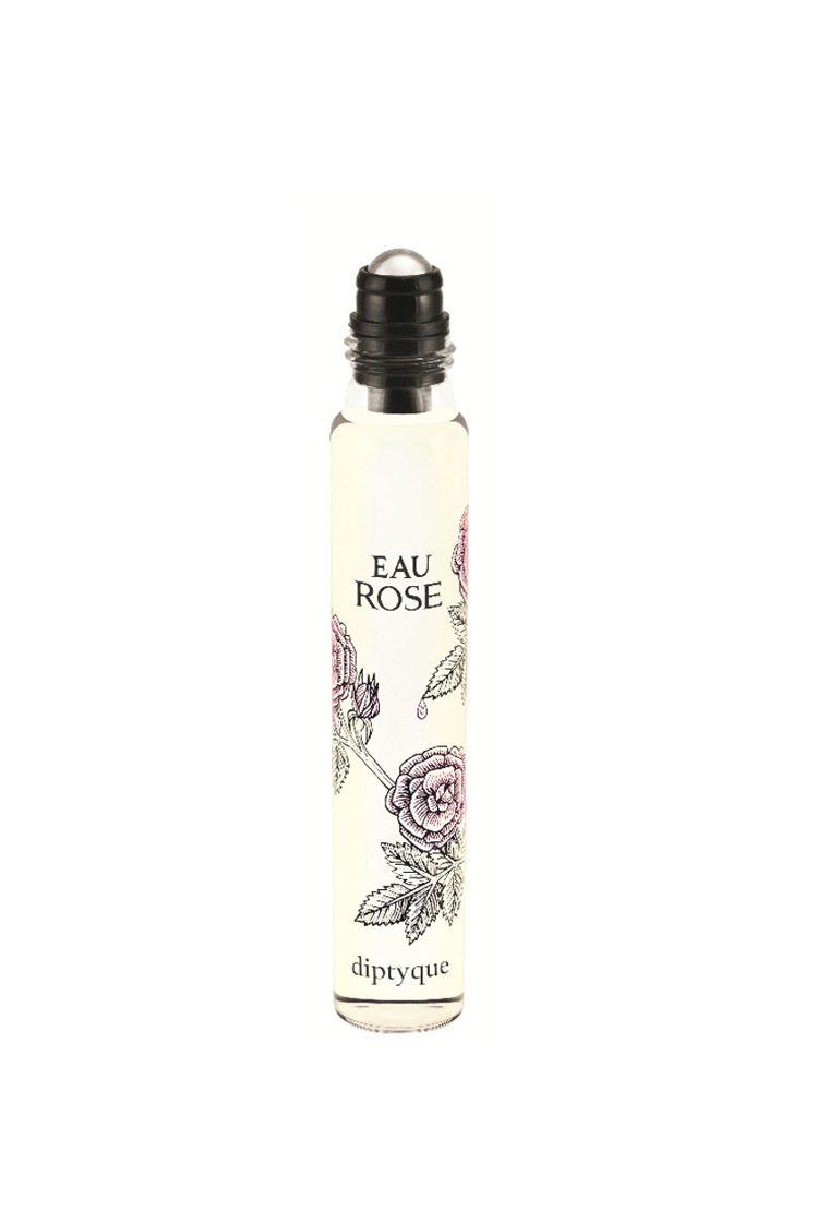 diptyque玫瑰之水滾珠式淡香水,20ml/1,800元。圖/diptyqu...